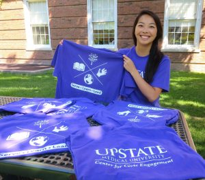 Medical student designs T-shirt for Day of Service Sept. 10