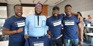 Match Day brings smiles to Class of '21